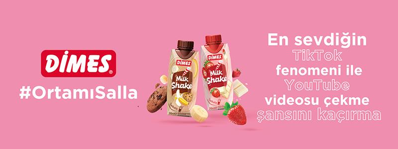 DİMES Milkshake TikTok #OrtamıSalla Challenge Kuralları