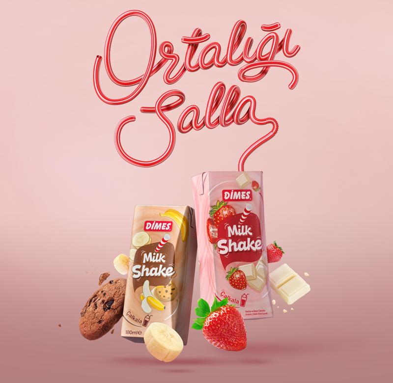 DİMES'ten  Ortalığı Sallayan Lezzet: Milkshake
