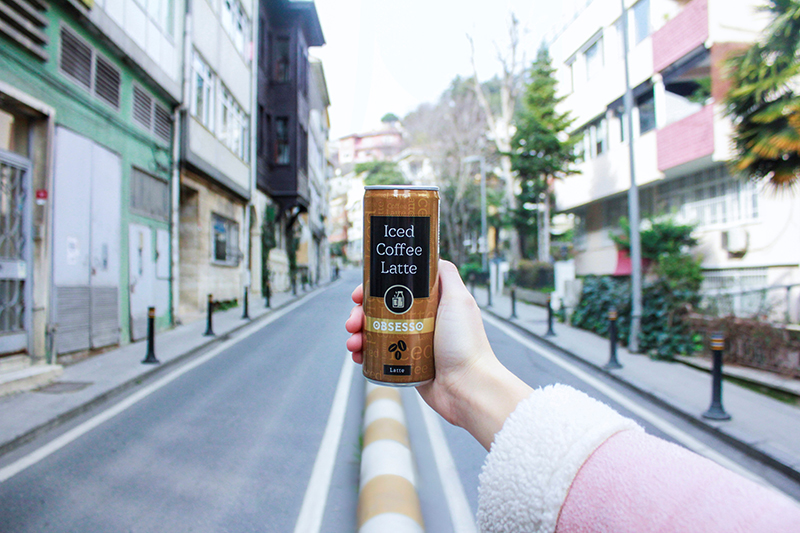 Gerçek Sütlü Soğuk Kahve: OBSESSO