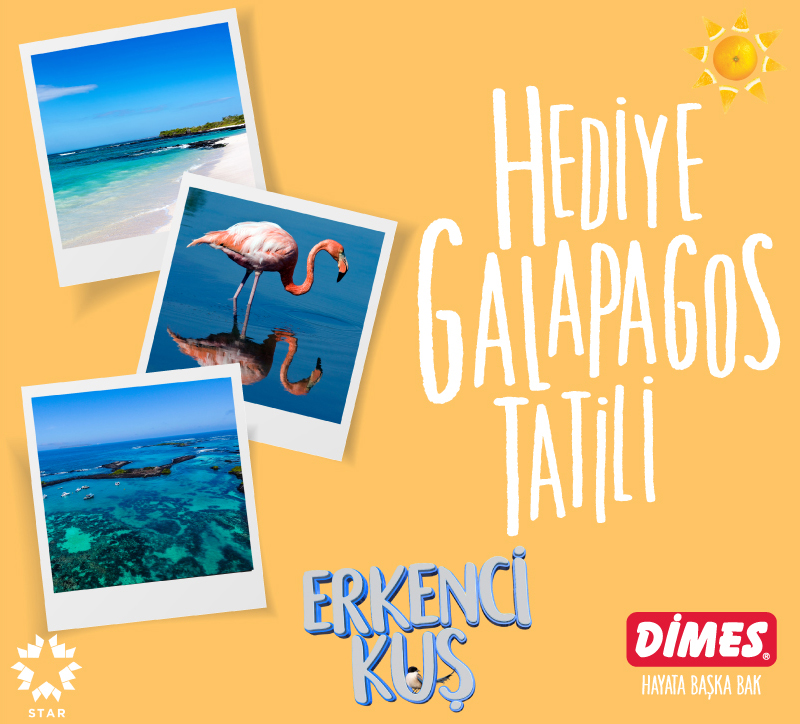 Şanslı 'Erkenci Kuş' Hayranı  DİMES'le Galapagos Adaları'nda!
