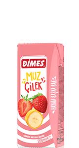 DİMES Muz - Çilek İçeceği